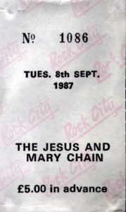 08 September 1987 Jesus and Mary Chain