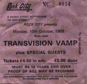 19881010 Transvision Vamp