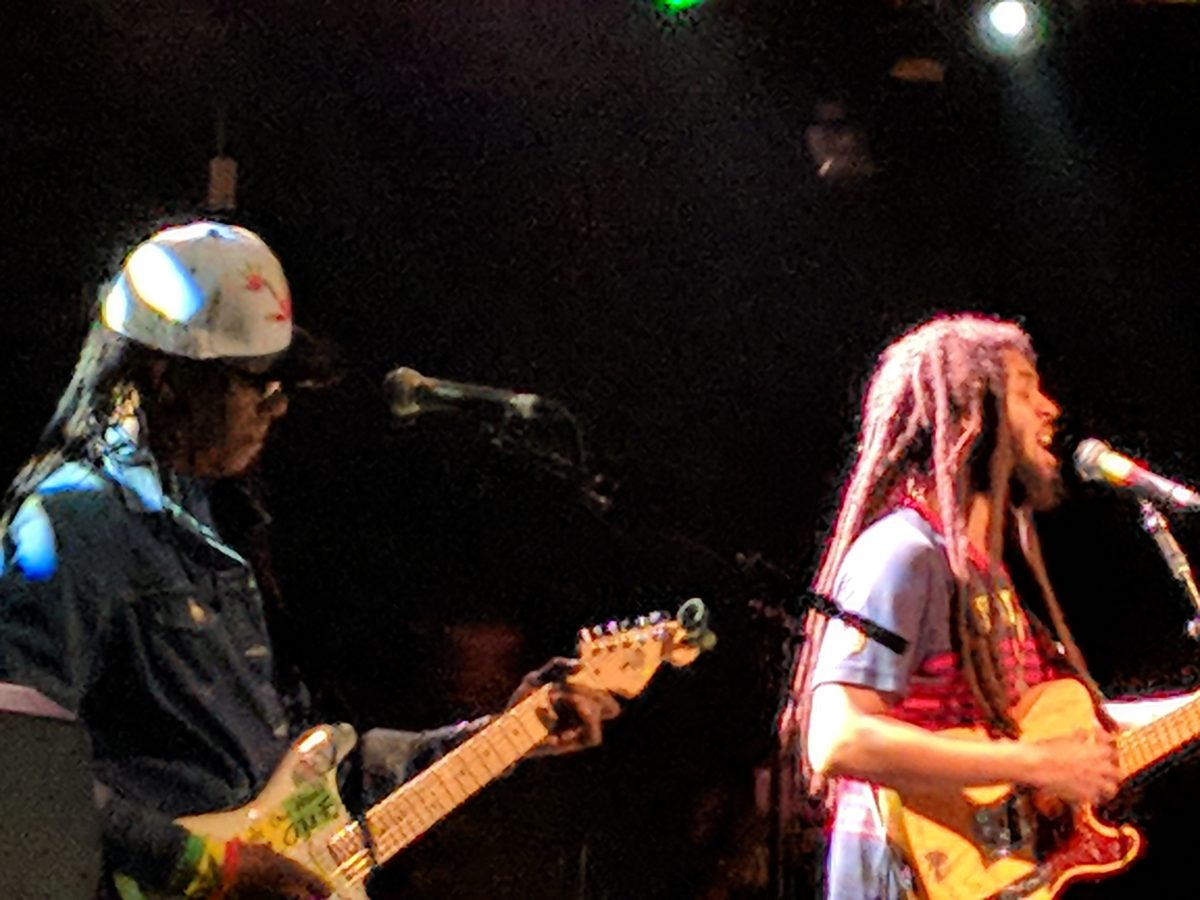 13 March 2018: The Wailers – Rock City, Nottingham, England, UK