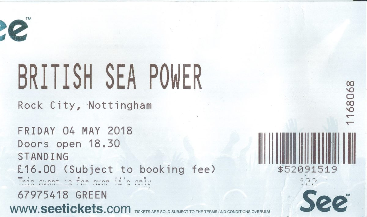 04 May 2018: British Sea Power - Rock City, Nottingham, England, UK
