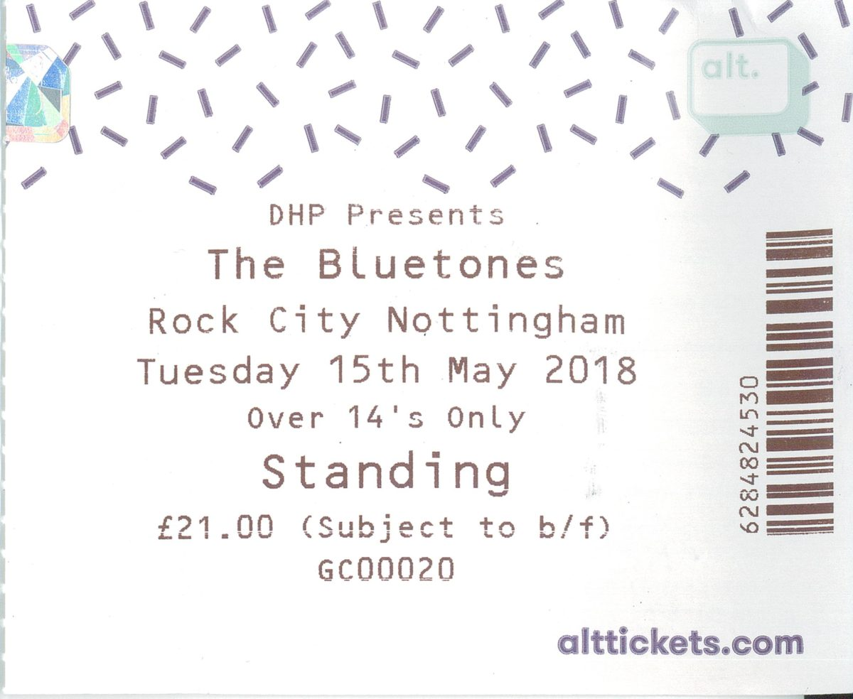 15 May 2018: The Bluetones – Rock City, Nottingham, England, UK