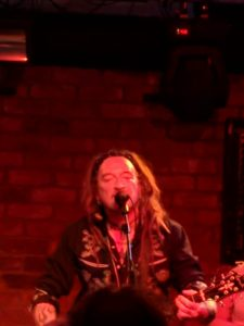 22 June 2018: Ginger Wildheart - Rock City Basement, Nottingham, England, UK